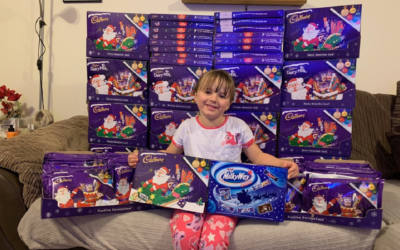 Year 1 Pupil Impresses the Community with her Selection Box Project and Overwhelming Kindness